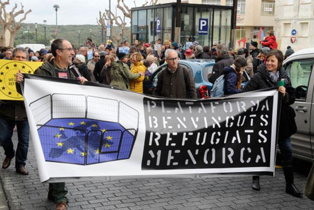 Plataforma Benvinguts Refugiats Menorca