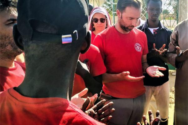 Actuación odontológica de Acción Planetaria en Senegal