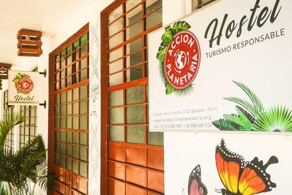 Hostel de Turismo Responsable de Acción Planetaria en Satipo