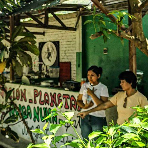 Hostel turismo responsable de Acción Planetaria en Satipo (Perú)
