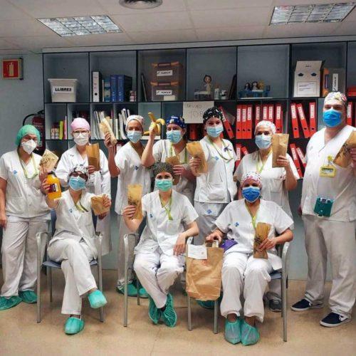 Desayunos para el personal sanitario con motivo del Covid-19